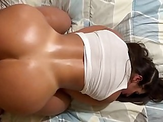 Passionate sex bouncing her big ass on my cock