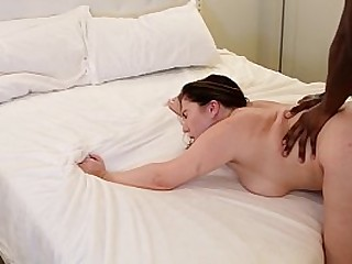 PAWG IG MODEL TAKES BBC FIRST TIME