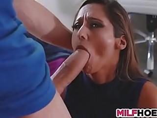 Busty Mlif like big dick
